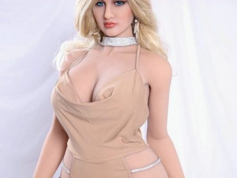 Galia blonde sex doll